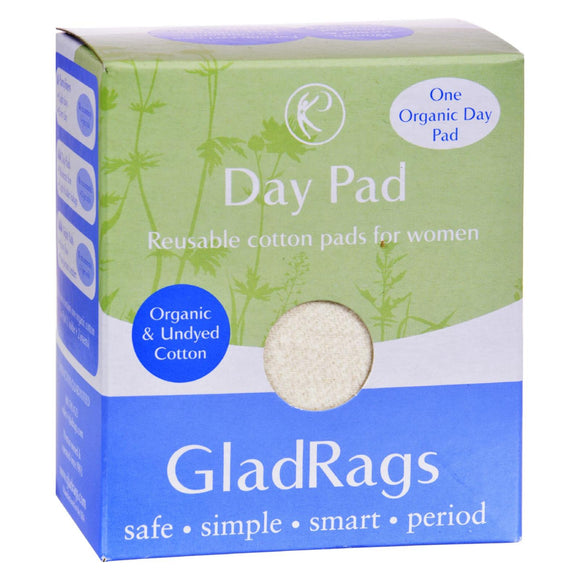 Gladrags Organic Undyed Day Pads - 1 Pack Pack of 3