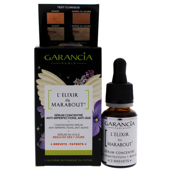 LElixir du Marabout Concentrated Serum by Garancia for Unisex - 0.5 oz Serum Pack of 3