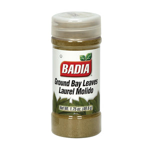 Badia Spices - Spice Bayleaves Ground - Case of 8 - 1.75 OZ