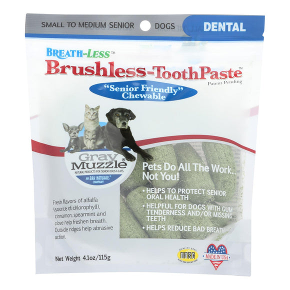 Ark Naturals - Breath-Less Brushless Toothpaste - 4.1 oz Pack of 3