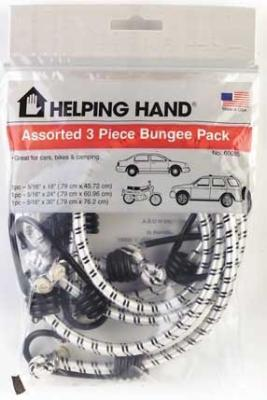 Bungee Cords 3 Pak Pack of 3