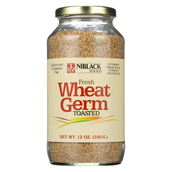 Niblack Wheat Germ - Toasted - 12 oz Pack of 3