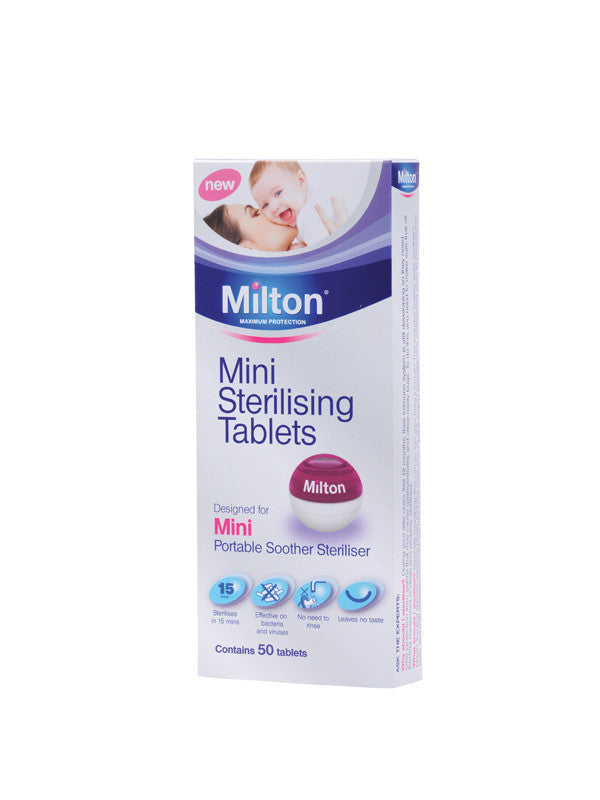 Milton Mini Sterilising Tablet (50s)