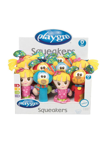 Playgro squeakers