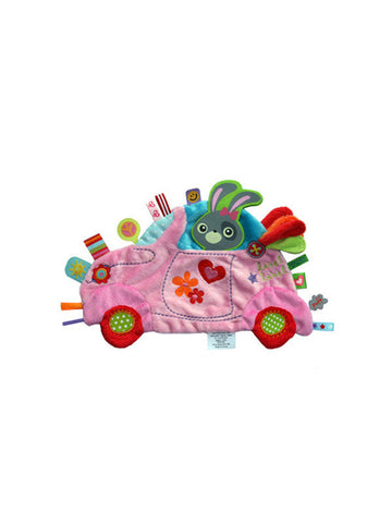 Label Label Comforter - Girls Car