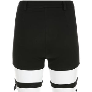 Detachable High Waisted Shorts