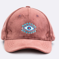 « EVIL EYE » VELOUR EMBROIDERED HAT