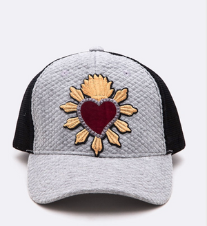 « SACRED HEART » QUILTED TRUCKER CAP