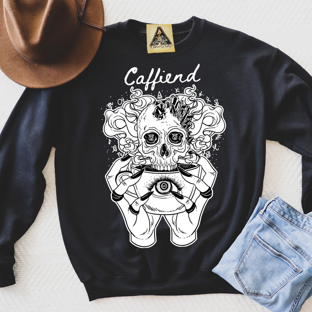 « CAFFIEND » UNISEX PULLOVER