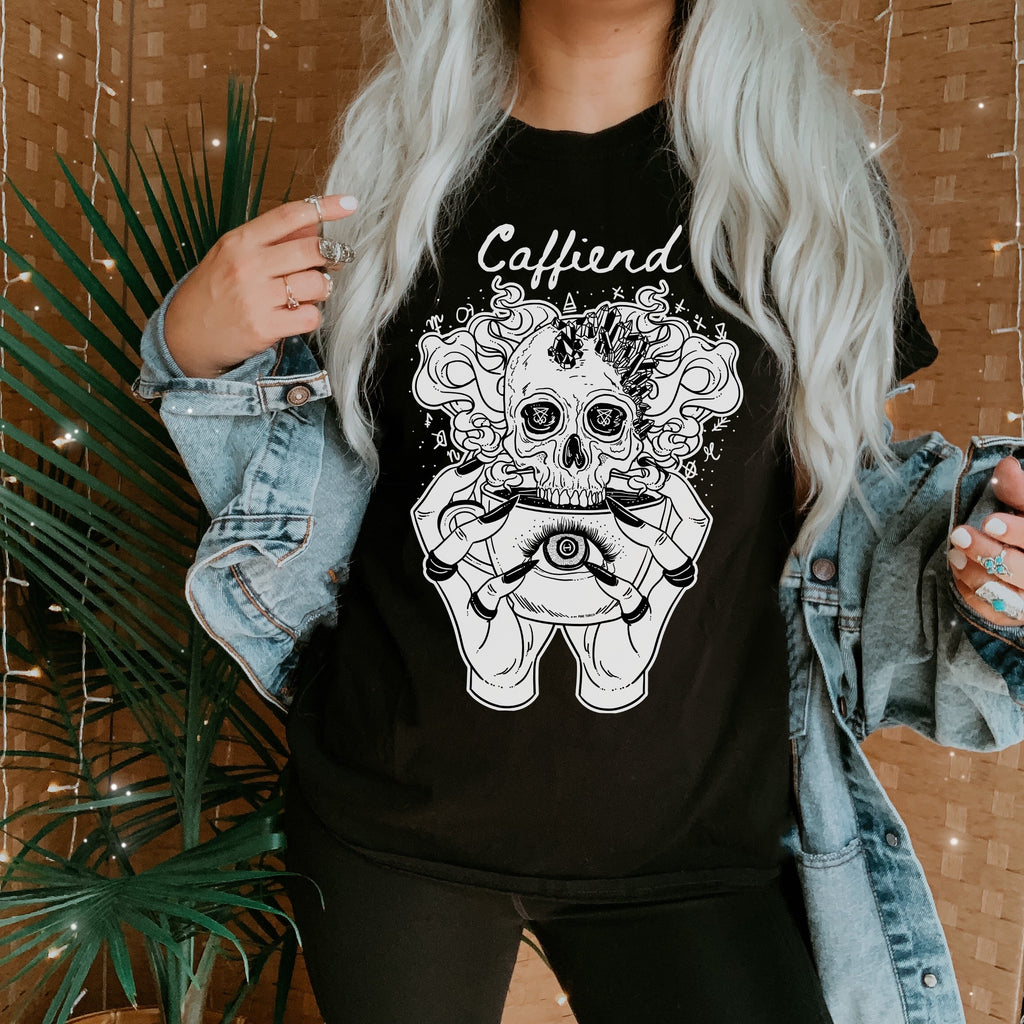 « CAFFIEND » WOMEN'S SLOUCHY OR UNISEX TEE