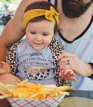 « WHATEVER, I'M GETTING CHEESE FRIES »  SLOUCHY TANK