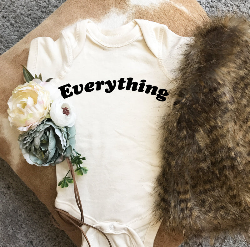 « EVERYTHING IS GOING TO BE F*CKING AMAZING » CREAM UNISEX TEE