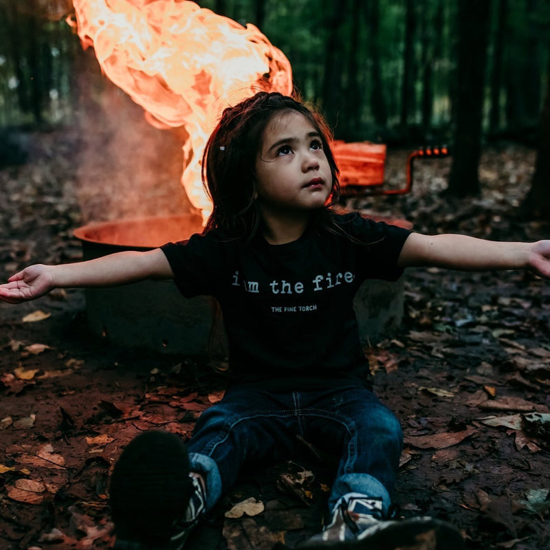 « I AM THE FIRE » KID'S TEE