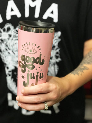 GOOD JUJU « 22 oz STAINLESS STEEL TUMBLER »