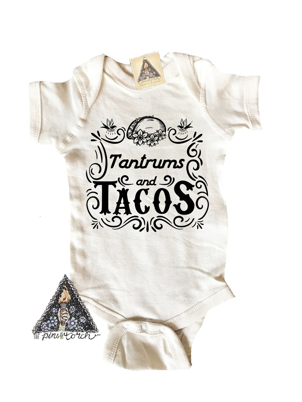 « TATTOOS AND TACOS » CREAM UNISEX TEE