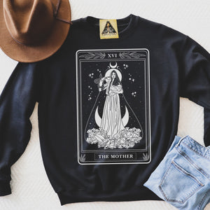 « THE MOTHER TAROT » UNISEX PULLOVER