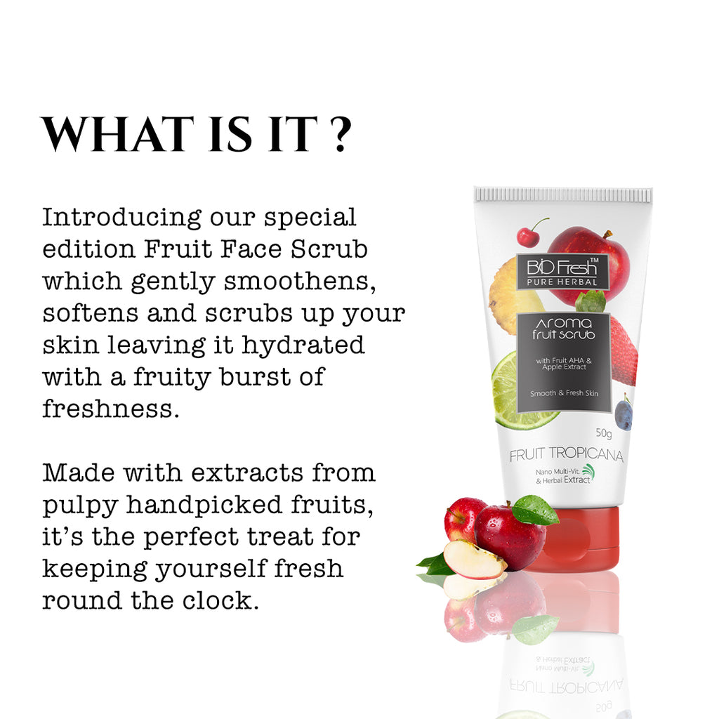 Fruit Scrub