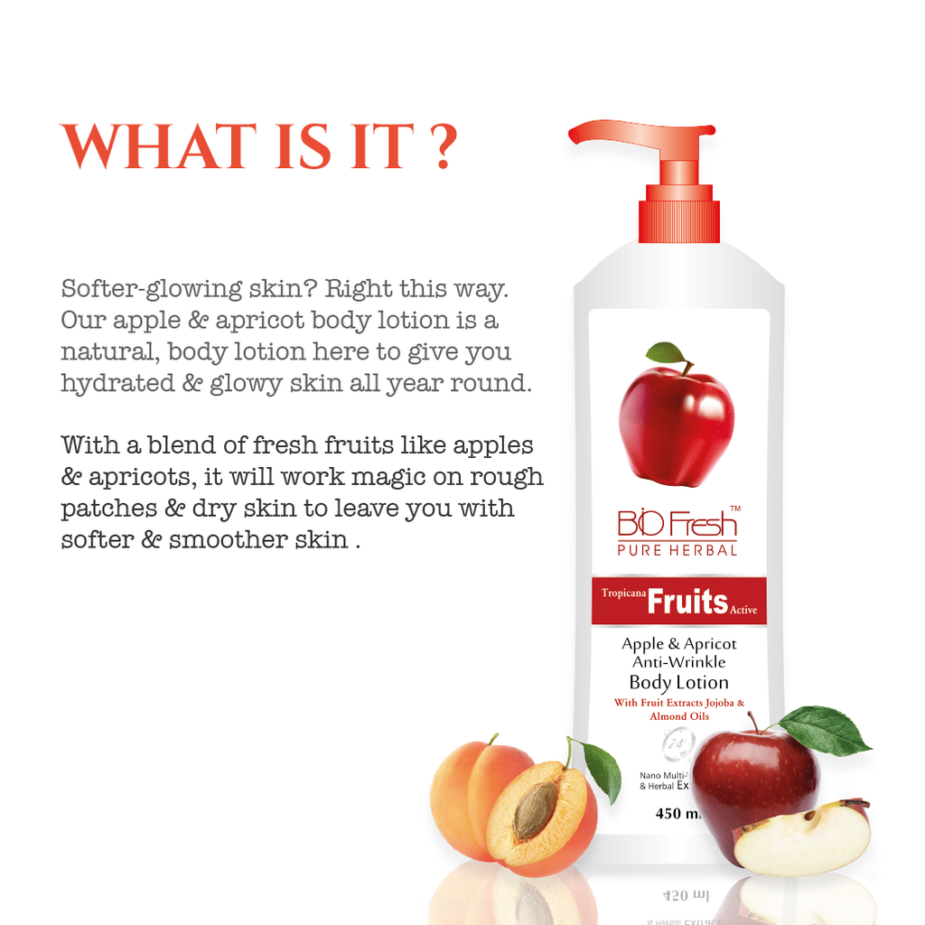 APPLE & APRICOT BODY LOTION