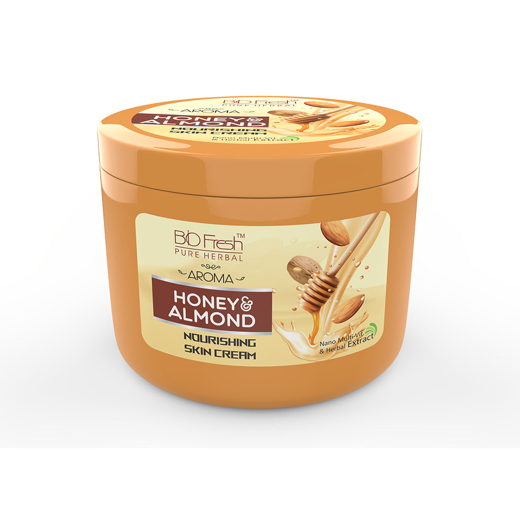 Honey & Almond Cream