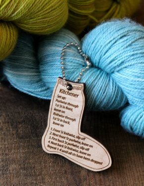 Kitchener Stitch Fob