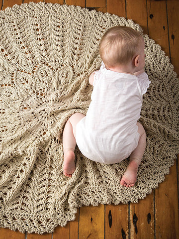 Cecelia Botanical Baby Blanket Kit