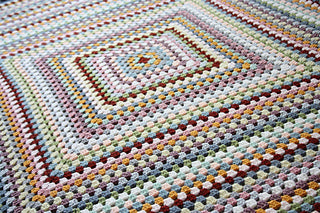 Granny Goes Large Crochet Blanket Kit