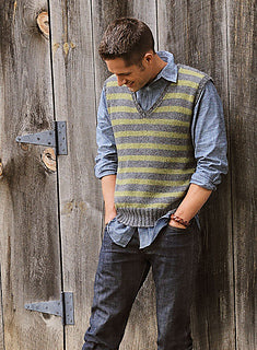 Men's Striped Vest Kit