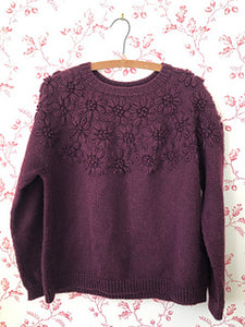 Wool Blossom Pullover Kit