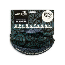 Load image into Gallery viewer, black-bandana-tattoo-print-wild-kiwi