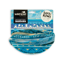 Load image into Gallery viewer, blue-bandana-tribal-print-wild-kiwi