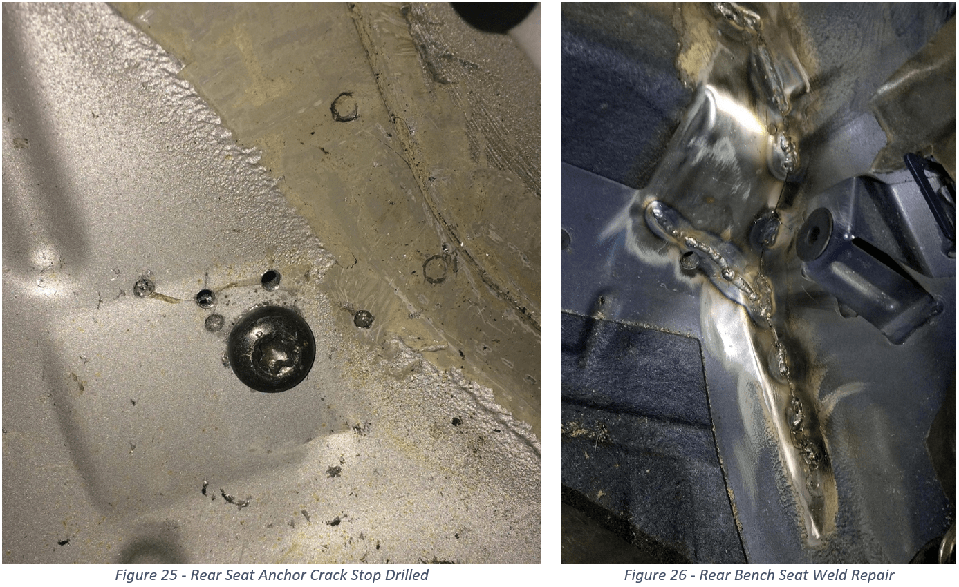 E46 RACP Cracks Stop Drilled