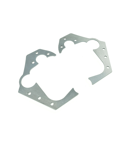 E36 Rear Trailing Arm Mount Reinforcement Plates