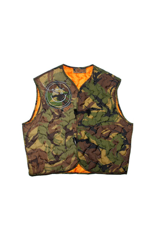 "Re-cut Vest Camo/Orange ""ONE-OF-A-KIND"""
