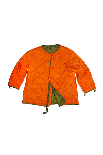 Reversible Liner Samurai Army Green Orange