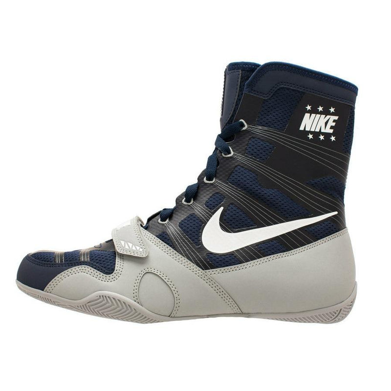 Nike Hyper KO Boxing Shoe Navy/White