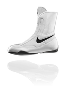 Nike Machomai Mid Boxing Shoe - White - Full Contact Sports