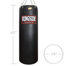 Ringside Powerhide Punching bag - 100lbs. Soft Filled - Full Contact Sports