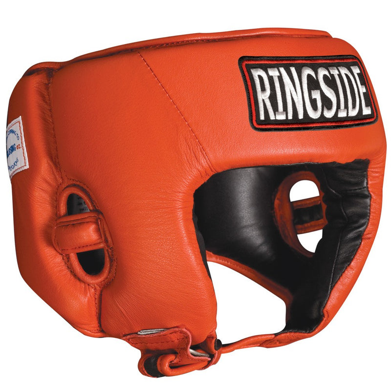 Ringside Fightgear Headguard - USA Boxing Approved -Open Face - Full Contact Sports