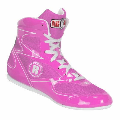 Ringside Diablo Boxing Shoe -Pink - Full Contact Sports
