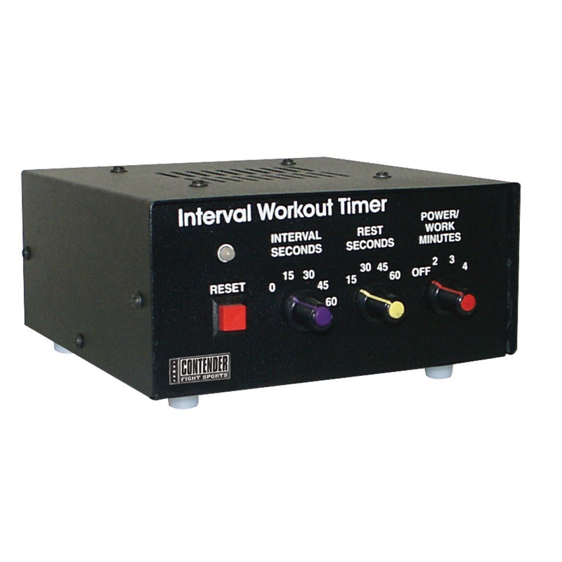 Top Contender Interval Timer - Full Contact Sports