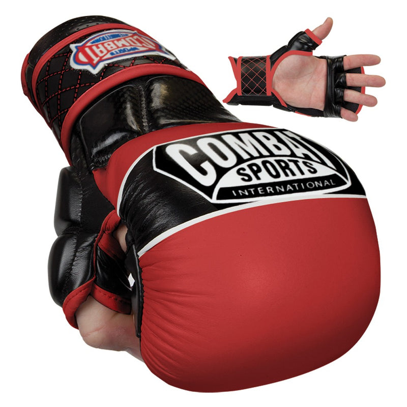Combat Sports Max Strike Safety Training MMA Gloves - Full Contact Sports