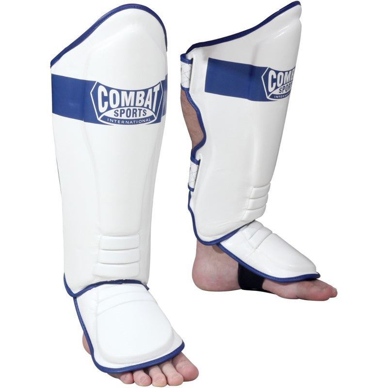 Combat Sports Traditional Shin Guards - Full Contact Sports