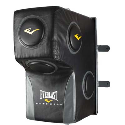 Everlast Leather Pro Wall Mount Uppercut Bag - Full Contact Sports