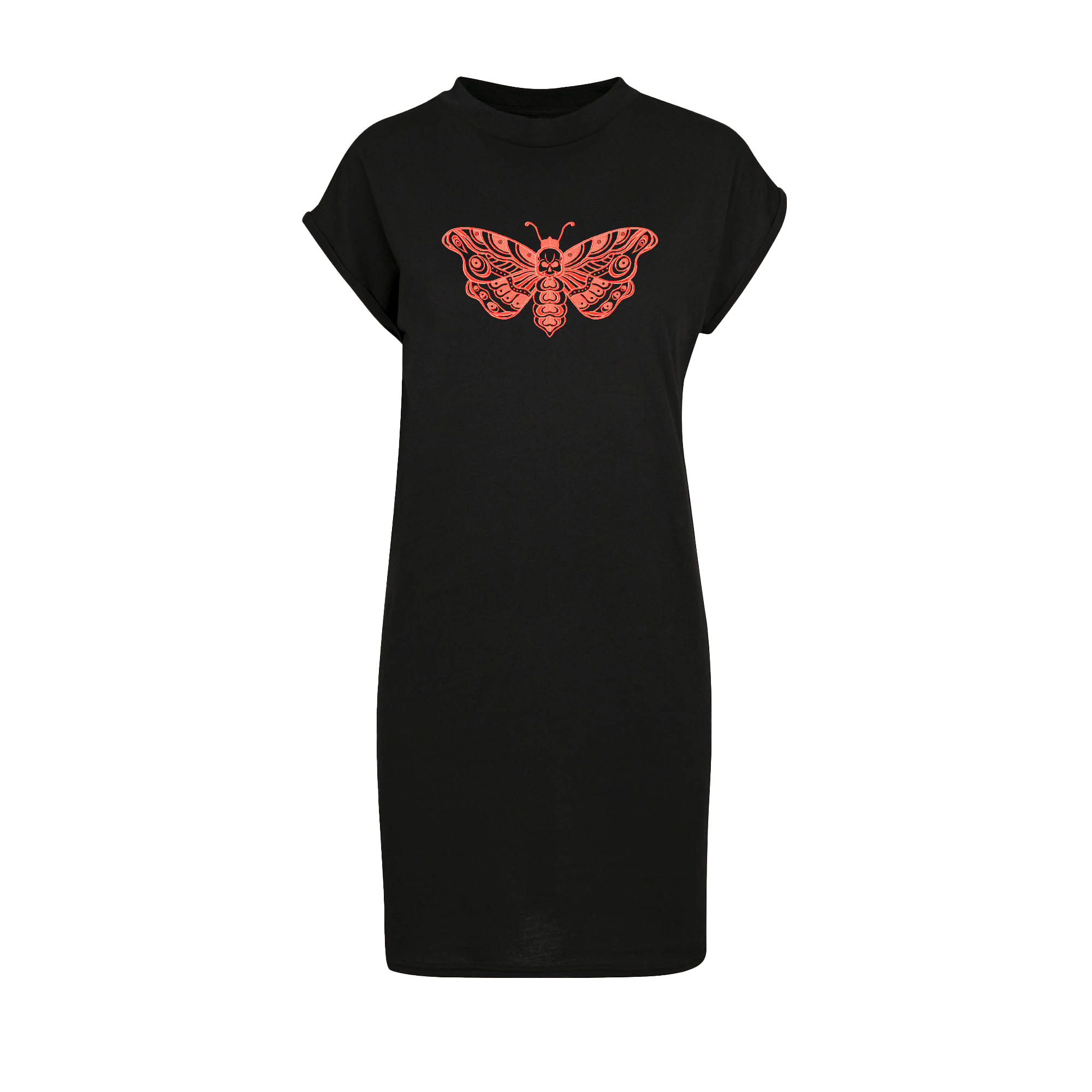 Death Moth T-shirt Dress