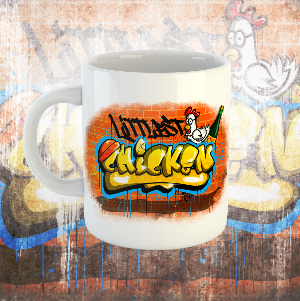 LITTLEST CHICKEN OFFICIAL - Graffiti Mug