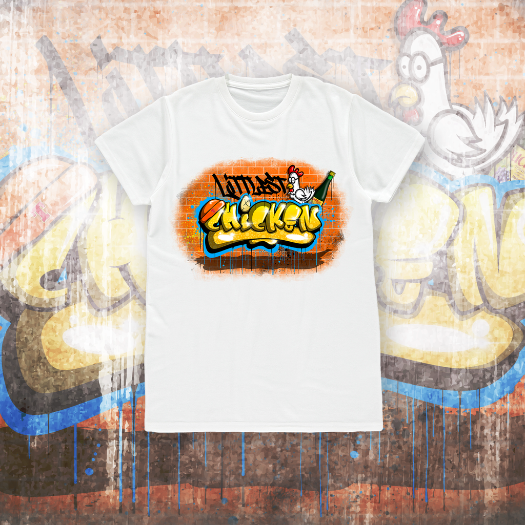 LITTLEST CHICKEN OFFICIAL - Kids Graffiti T-shirt