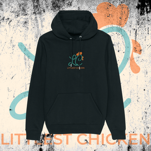 LITTLEST CHICKEN OFFICIAL - Adults Unisex Littlest Chicken Embroidered Logo hoodie