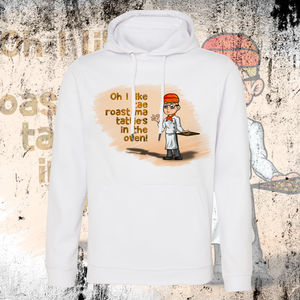 LITTLEST CHICKEN OFFICIAL - Adults Unisex Roast Tatties Hoodie