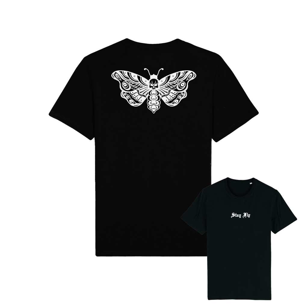 Adults Unisex Death Moth T-shirt