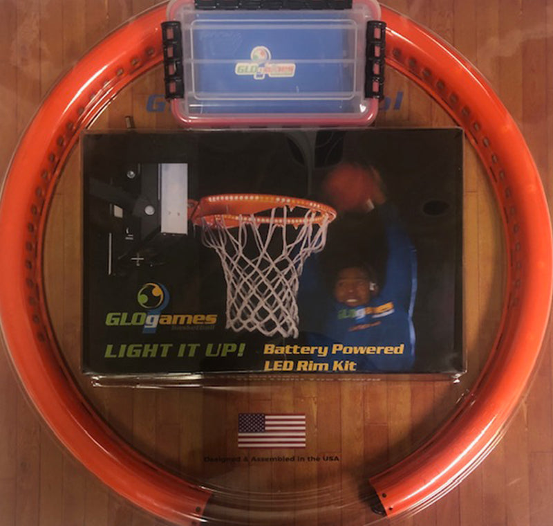 Battery Powered Light It Up LED Basketball Rim Light